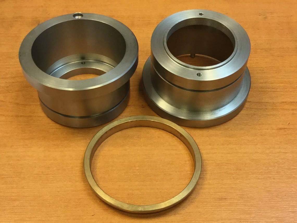 three individual IKWA parts