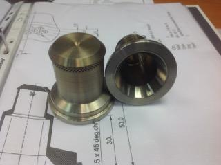 Axomatic machinery parts